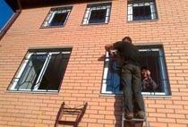 Монтаж решеток в Новодвинске
