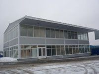 Построить торговые павильоны г.Новодвинск